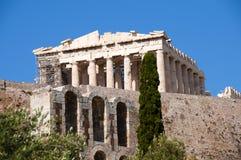 Ruine der Akropolises lizenzfreie stockfotografie