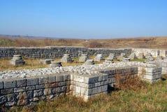 Ruine der alten römischen Festung Lizenzfreie Stockbilder