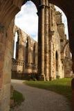 Ruine der Bolton-Abtei Stockbild