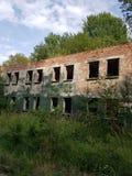 Ruine der DDR Stockbilder