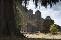 Ruine des Schlosses Stockfotografie