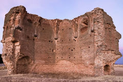 Ruine des Schlosses in Avila, Spanien Lizenzfreies Stockfoto