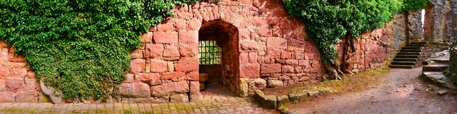 Ruine do castelo de Zavelstein Fotografia de Stock Royalty Free