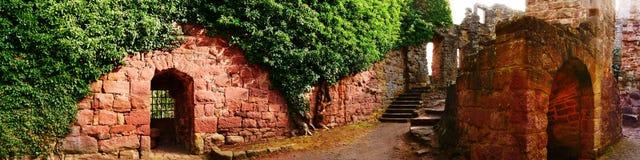 Ruine do castelo de Zavelstein Fotos de Stock Royalty Free