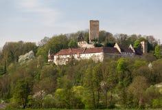 Ruine Ehrenberg i den dåliga Rappenau Tyskland Royaltyfri Foto