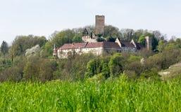 Ruine Ehrenberg i den dåliga Rappenau Tyskland Royaltyfri Bild
