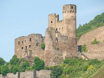 Ruine Ehrenfels Stock Photography