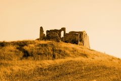Ruine en Toscane Photos stock