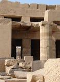 Ruine et hiéroglyphes Image stock