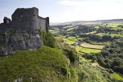 Ruine in Galles fotografia stock
