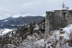Ruine Greifenstein Photos stock