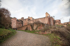 Ruine Hardenburg Foto de Stock Royalty Free