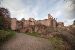Ruine Hardenburg Stock Fotografie