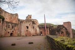 Ruine Hardenburg Stock Afbeeldingen