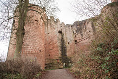 Ruine Hardenburg Royalty Free Stock Photography