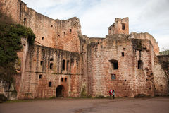 Ruine Hardenburg Royalty Free Stock Images