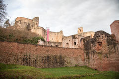Ruine Hardenburg Royalty Free Stock Photos