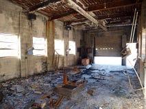 Ruine industrielle Images libres de droits