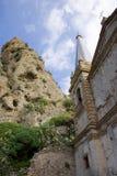 Ruine Kalabrien stockbilder