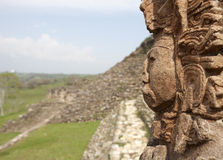 Ruine le Maya Image stock