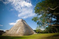 Ruine maya d'itza de Chichen Images stock