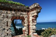 Ruine portoricaine Image libre de droits