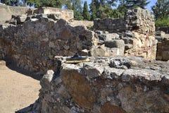 Ruine romaine de nettoyage Photo stock