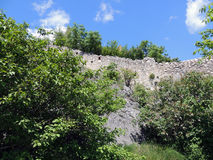 Ruine Staatz Stockbilder
