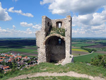 Ruine Staatz Stockbild