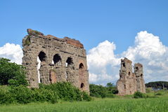 Ruine sur Appia Antica Photo libre de droits