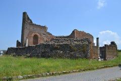 Ruine sur l'antica d'appia Photos stock