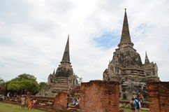 Ruine-Tempel in Thailand Lizenzfreie Stockfotografie