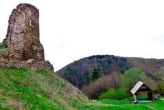 Ruine von Lichnice Lizenzfreie Stockbilder