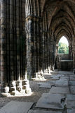 Ruined abbey Stock Images