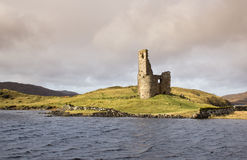 Ruined Adrvreck Castle Royalty Free Stock Photography