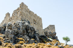 Ruined ancient castle Royalty Free Stock Images