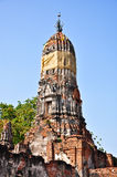 Ruined ancient pagoda Stock Photography