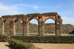 Ruined Ancient Structure Royalty Free Stock Photos