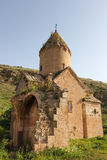 Ruined ancient Surb Karapet church Stock Photo