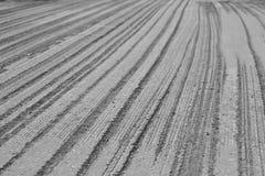 Ruined asphalt before repair Royalty Free Stock Photography