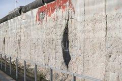 Ruined Berlin wall Stock Photo