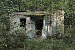 Ruined brick building Royalty Free Stock Photos