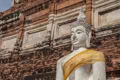 Ruined of Buddha statue Royalty Free Stock Images