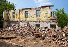 Ruined Building Royalty Free Stock Images
