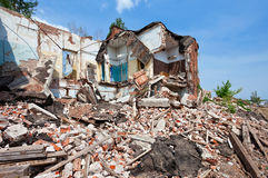 Ruined Building Stock Image