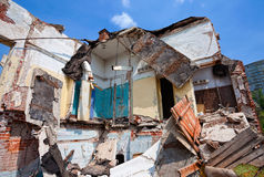 Ruined Building Royalty Free Stock Photos
