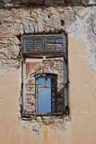 Ruined building, Halki island Royalty Free Stock Photography