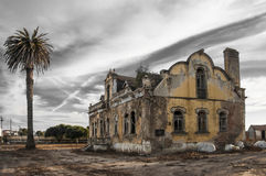 Ruined buildings Stock Photo