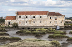 Ruined buildings Royalty Free Stock Image