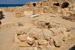 Ruined Caesarea. Royalty Free Stock Photography